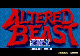 Altered Beast - Sega Retro