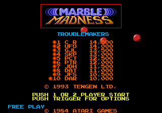 MarbleMadness MDTitleScreen.png