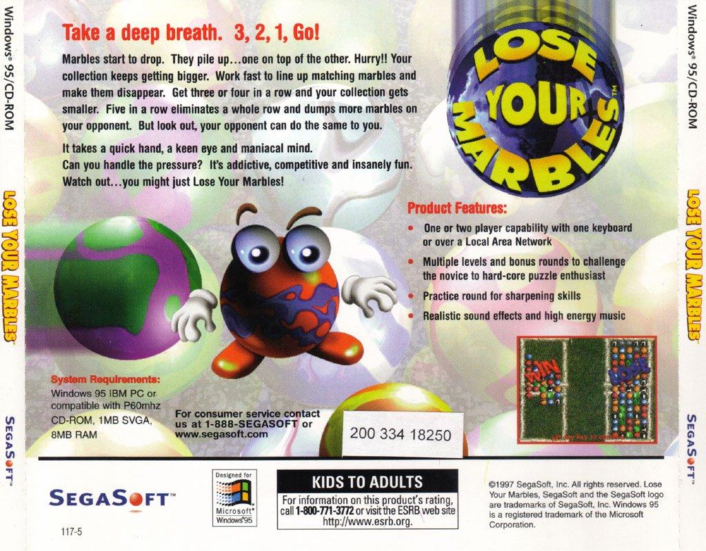 segasoft lose your marbles