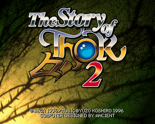 TheStoryOfThor2 SaturnTitleScreen.png
