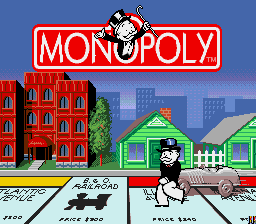 What is the special die with pictograms in monopoly used for.