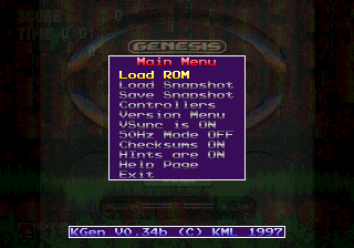 sega genesis emulator free