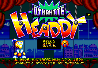 Dynamite Headdy Title.png
