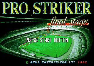 League Pro Striker Final Stage - Sega Retro