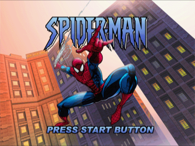 Spider Man Videogame 2000-tela de titulo game/titlle game!