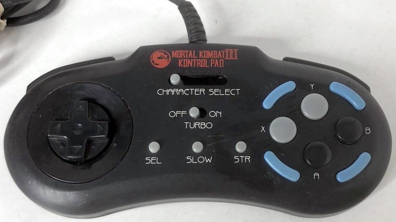 Mortal Kombat 3 Kontrol Pad