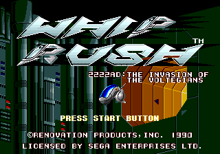 WhipRush MD US TitleScreen.png