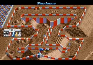 super off-road mega drive
