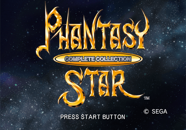 Sega Ages 2500 Series Vol  32: Phantasy Star Complete Collection