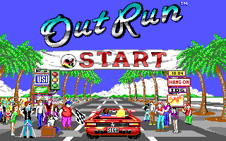 OutRun IBMPC EGA-Tandy Title.png