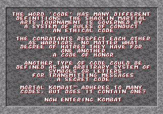 Mortal Kombat/Hidden content - Sega Retro
