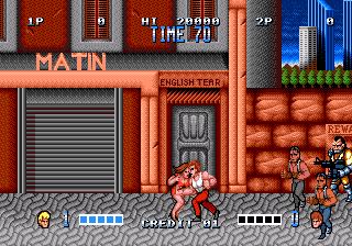 Double Dragon Comparisons Sega Retro