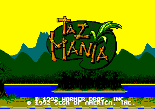 Taz Mania Title.png