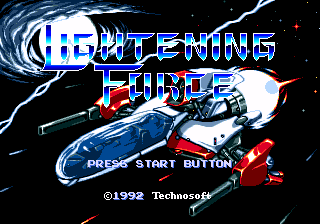 LighteningForce MD TitleScreen.png
