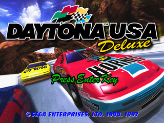 Daytona USA Deluxe PC title.png