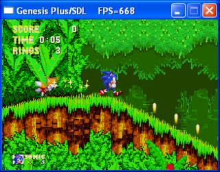 Genesis Plus - Sega Retro