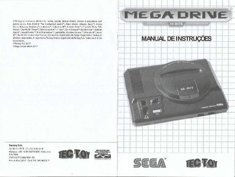 File:Manual Mega Drive 2017.pdf - Sega Retro