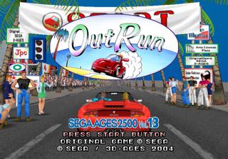 Sega Ages 2500 Series Vol  13: OutRun