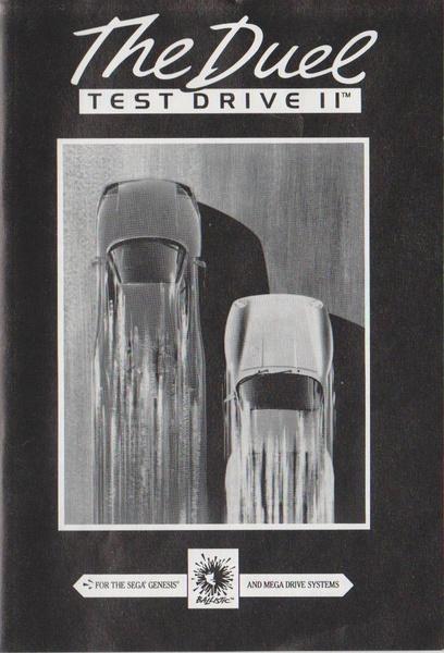 File:Test Drive II MD US Manual.pdf - Sega Retro