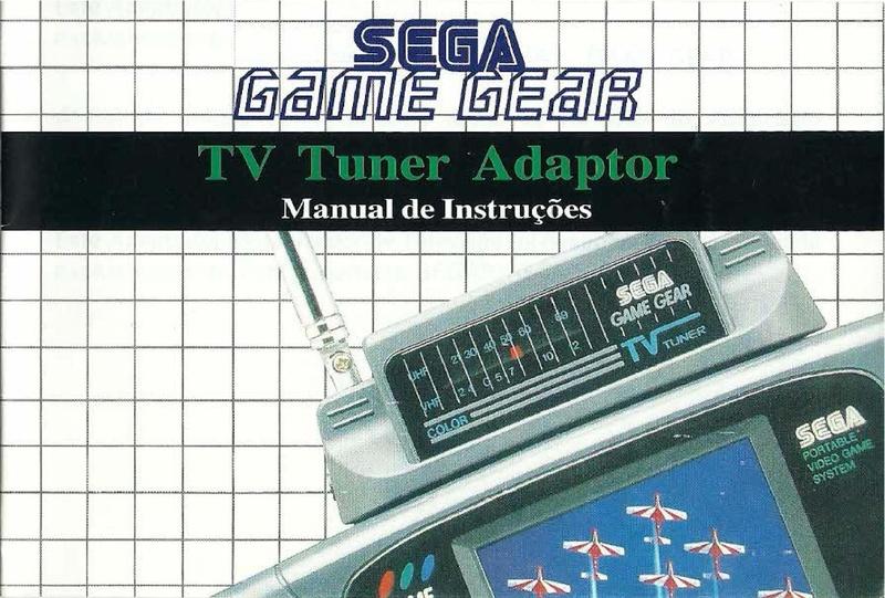 File:TV Tuner GG PT Manual.pdf - Sega Retro