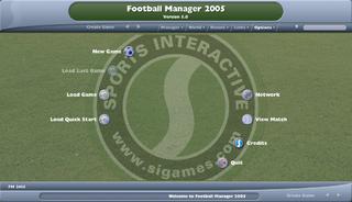 Football Manager 2005 Sega Retro