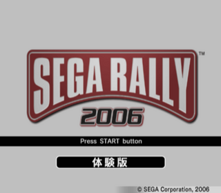 SegaRally2006Demo PS2 JP SSTitle.png