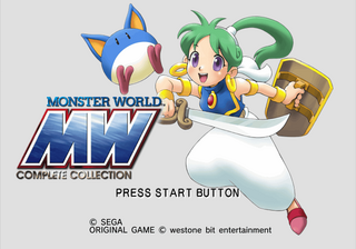 Sega Ages 2500 Series Vol  29: Monster World Complete
