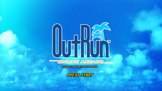 Outrun Online Arcade title screen.png