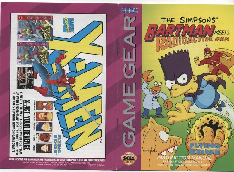 File:The Simpsons Bart Meets Radioactive Man GG US Manual