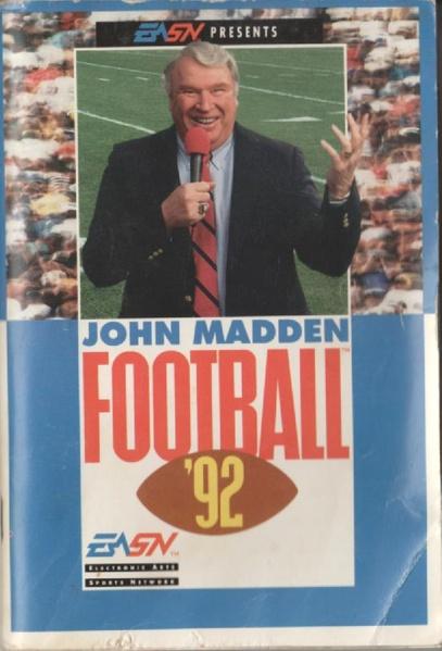 File:John Madden Football 92 MD US Manual.pdf - Sega Retro