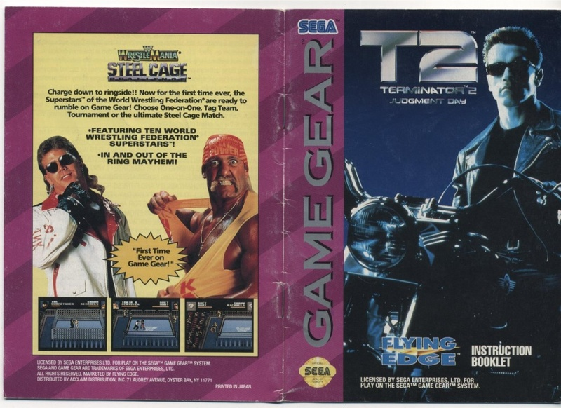 File:Terminator 2 Judgment Day GG US Manual pdf - Sega Retro