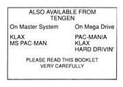 File:Rampart SMS EU Manual.pdf - Sega Retro