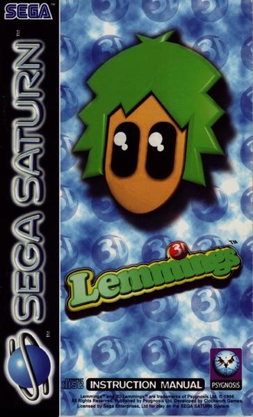 File:3D Lemmings Sat EU Manual.pdf - Sega Retro