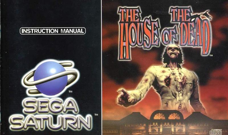 File:The House of the Dead Sat EU Manual.pdf - Sega Retro