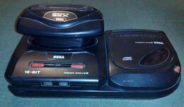 Sega Mega Cd 32x