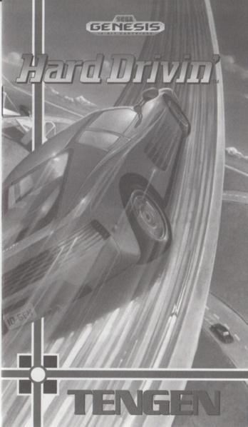 File:Hard Drivin' MD US Manual (cardboard).pdf - Sega Retro
