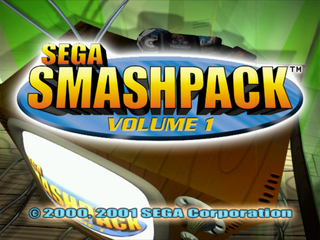Sega Smash Pack Vol. 1 - Title Screen.png