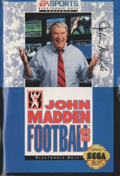 File:John Madden Football 93 MD US Manual.pdf - Sega Retro