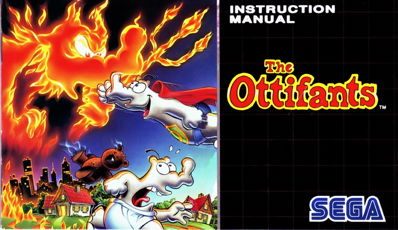 File:The Ottifants MD FR Manual.pdf - Sega Retro