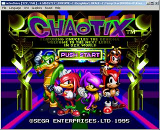 32x Emulator