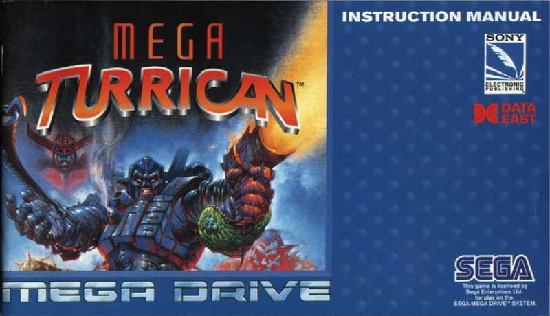 File:Mega Turrican MD EU Manual.pdf - Sega Retro