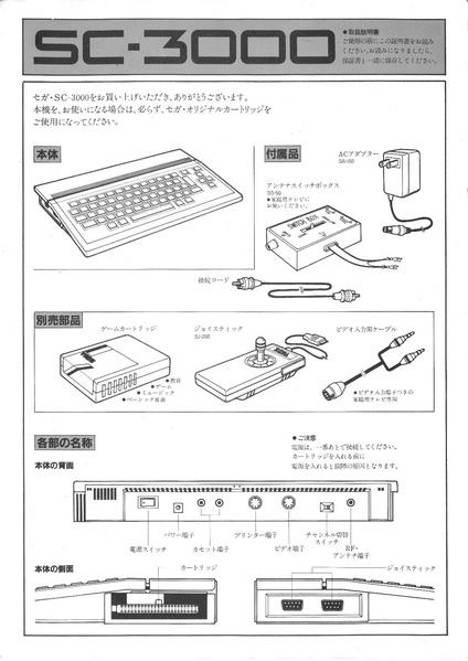 file sega sc 3000 jp user manual pdf sega retro rh segaretro org sega saturn user manual sega saturn user manual