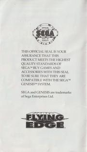 File:KSFH MD US Manual.pdf - Sega Retro