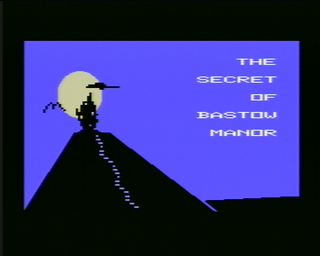 Secret of Bastow Manor The, SC3000 AU Titlescreen.png