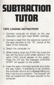 Subtraction Tutor SC3000 NZ Manual.PDF