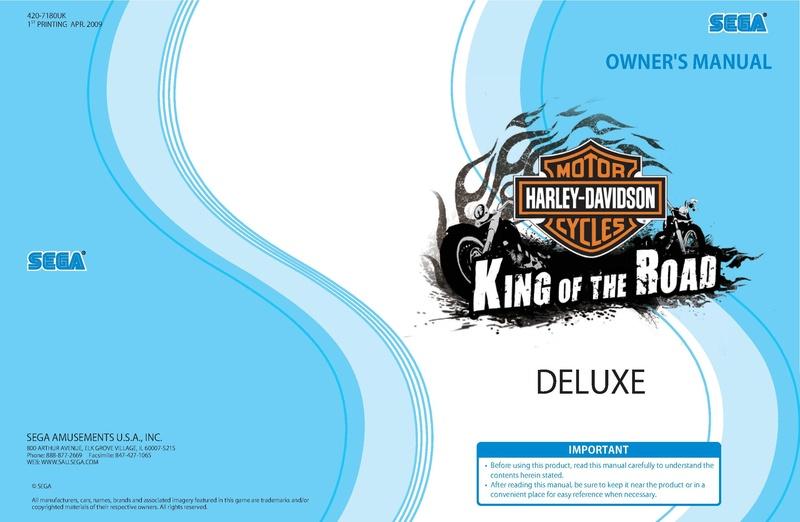 File:HDKotR Lindbergh Manual Deluxe.pdf - Sega Retro