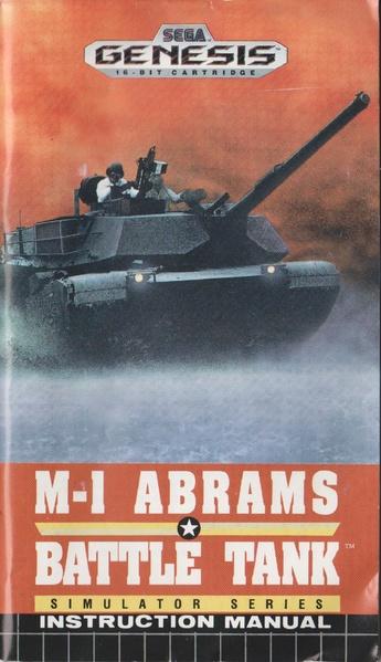 File:M-1 Abrams Battle Tank MD US Manual.pdf - Sega Retro
