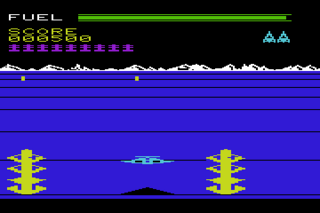 BuckRogers VIC20 Gameplay.png