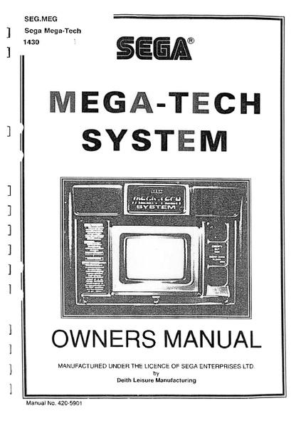 File:MegaTechSystem UK Manual.pdf - Sega Retro