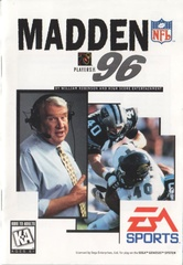 File:Madden NFL 96 MD US Manual.pdf - Sega Retro